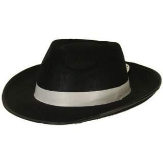 Chapeau feutre Al Capone noir