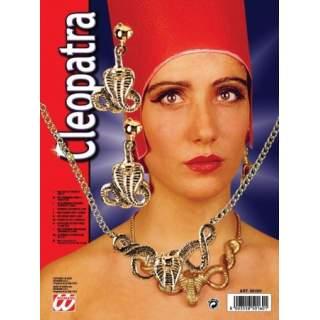 Collier et boucles d'oreilles Egypte