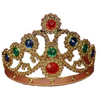Couronne de princesse or