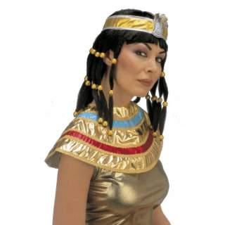 Coiffe reine égyptienne