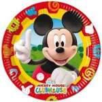 8 assiettes carton Mickey Mouse