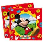 16 serviettes papier Mickey Mouse