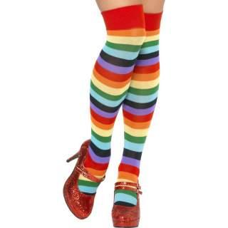 Chaussettes rayées multi couleurs