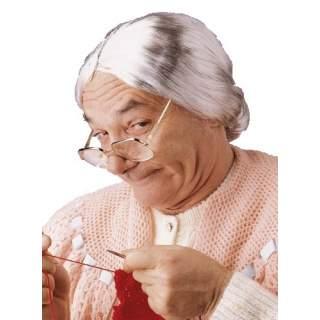 Perruque de grand mère