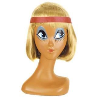 Perruque blonde années 30