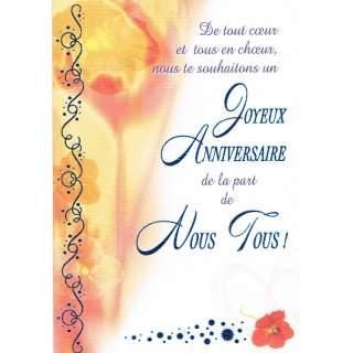 Carte Joyeux Anniversaire Ludibook