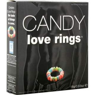 3 anneaux bonbons pour homme