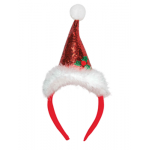 Serre-tête bonnet de Noël