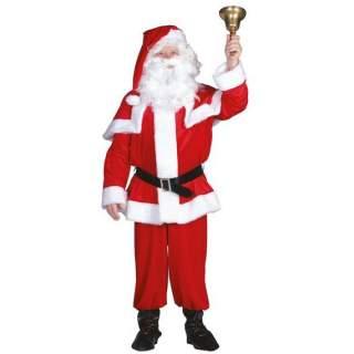 Costume du Père Noël luxe