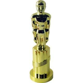 Statuette plastique dorée
