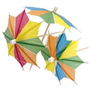 12 mini pics parasol assortis