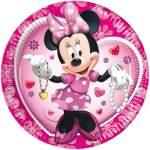 10 assiettes carton Minnie Mouse