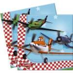 20 serviettes papier Planes